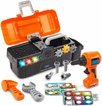 VTech Drill and Learn Toolbox Fix Play Kids Toy BRAND NEW EXPEDITED SHIP... - $28.84