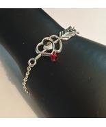 Arrow Heart Bracelet 7 or 8 Inch - $12.99