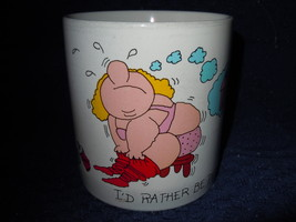 I'd Rather Be Pigging Out Mug Russ Berries Company - $1.99