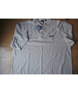 Men IZOD Lt Beige XXL Polo Dress Shirt Micro Pima Superior Drape Lightne... - $9.99