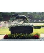 8x10 color-photo of the Secretariat statue at belmont - $10.00