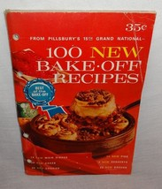 Pillsbury's 15th Grand National Bake Off Contest Vintage Cookbook Bookle... - $9.47