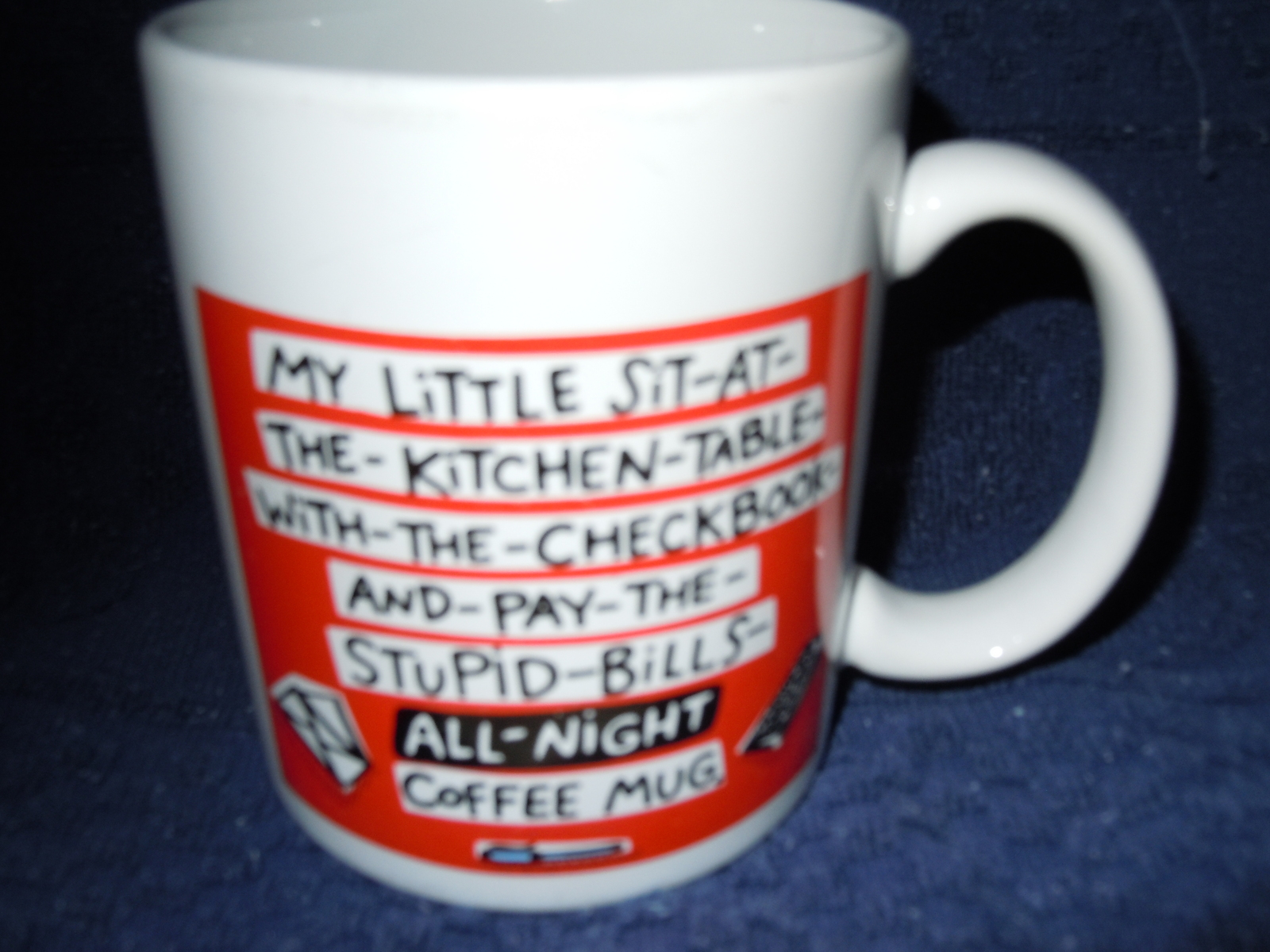 Hallmark Shoebox Greetings Mug My Little Sit at the Kitchen Table