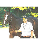 LOST IN THE FOG 8x10 Color picture w.groom @ Saratoga - $15.99