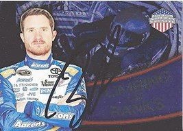 'Autographed Brian Vickers 2014 Press Pass American Thunder Climbing The Rank... - $59.95