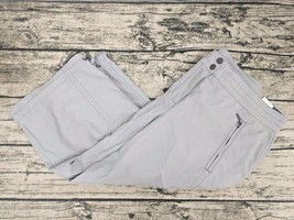 ANN TAYLOR LOFT Marisa Gray Cropped Cargo Pocket Pants - Women's Size 8 NEW - $19.79