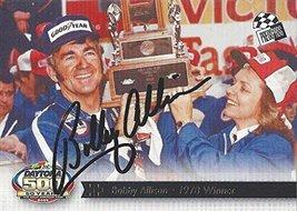 Autographed Bobby Allison 2013 Press Pass Total Memorabilia 2012 Hall Of Fame... - $59.95