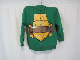 Nickelodeon Ninja Turtle Hoodie Size 7 Michelan... - $11.44