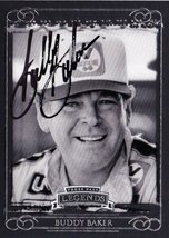 Autographed Buddy Baker 2008 Press Pass Legends Nascar Racing Vintage Trading... - $59.95