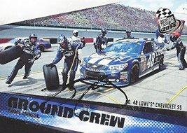 'Autographed Jimmie Johnson 2014 Press Pass Racing Ground Crew (#48 Lowe''S M... - $59.95