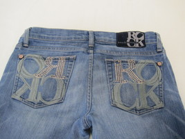 Rock and Republic Jeans Distressed and Stone Sequin Embellished Size 27 ... - $17.61