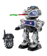 Walking Remote Control RC Robokid Programmable Disc Shooting Electric RC... - $56.06