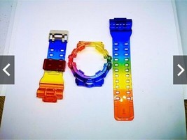 Case For G Shock Watch Strap Model GA700 GA710 Rainbow Display Parts Res... - $65.00