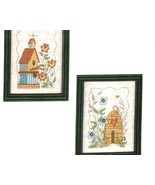 CLEARANCE Birds and Bees cross stitch chart Imaginating - $2.50