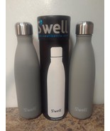 Swell Insulated Stainless Steel Water Bottle ,17 oz  SMOKEY QUARTZ LOT OF 2 - $36.45