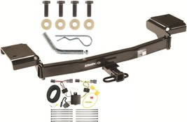 TRAILER HITCH W/ WIRING KIT FITS 2010-2015 HYUNDAI TUCSON CLASS II DRAW-... - $190.98