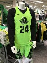 NWT mens S/small nike oregon ducks basketball #24 sewn authentic jersey ... - $79.99