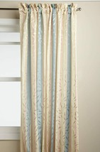 "Whitfield Stripe Tailored Curtain Panel, Buttercream, 84"", by Lorraine H... - $17.99"