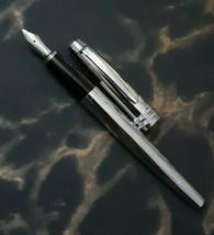 Cross Bailey Pure Chrome Fountain Pen Medium Nib - $64.89