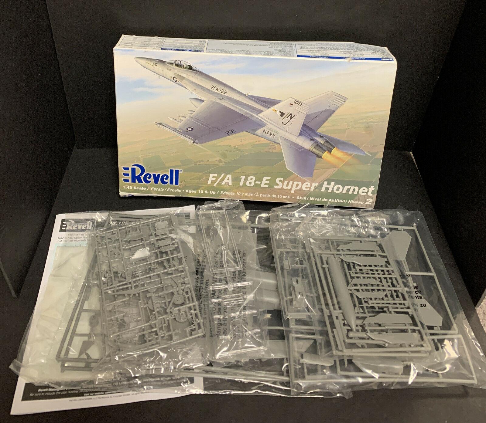 Revell 1/48th Echelle F/A 18E Super Hornet Modèle Plastique Kit 47-5850 Scellé - $22.89