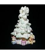 1 (One) LENOX HOLIDAY TRADITIONS Porcelain & 24K Trim Christmas Tree w G... - $37.99