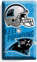Carolina Panthers Football Team Phone Jack Telephone Wall Plate Cover Man Cave - $8.90