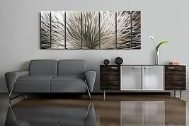 Large Modern Abstract Metal Wall Art Sculpture Jon Allen Home Wall Decor Panels - $391.05