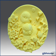 Baby Chicks with Flowers – Silicone Soap Mold - $24.95