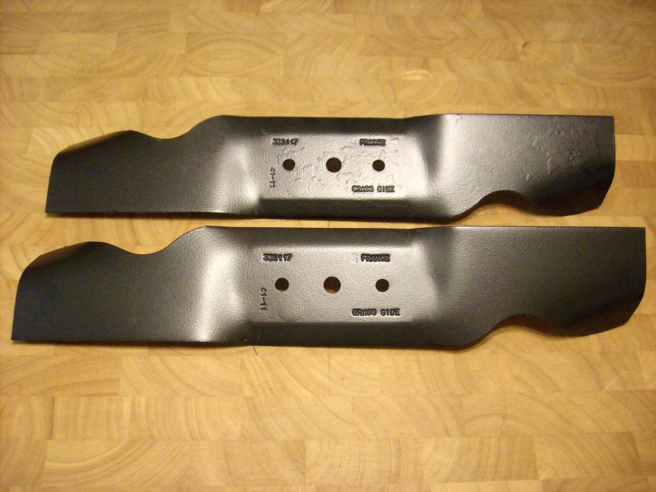 """MTD 32"""" Cut Blades 742-0480, 742-0487, 742-0487A, 942-0487A, 742-0477"""