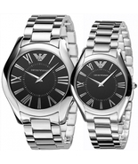 EMPORIO ARMANI AR2022 AND AR2023 - HIS AND HERS ARMANI WATCHES - $326.99