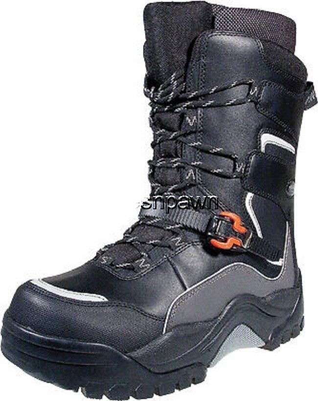 New Mens Size 9 Baffin Hurricane Snowmobile Winter Snow Boots Rated -94 F