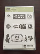 Stampin' Up! Hello Lovely Clear Mount Stamp Set... - $14.99