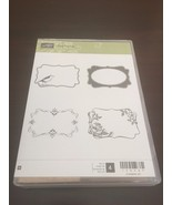 Stampin' Up! Four Frames Wood Mount Stamp Set! FREE SAME DAY SHIPPING - $32.66