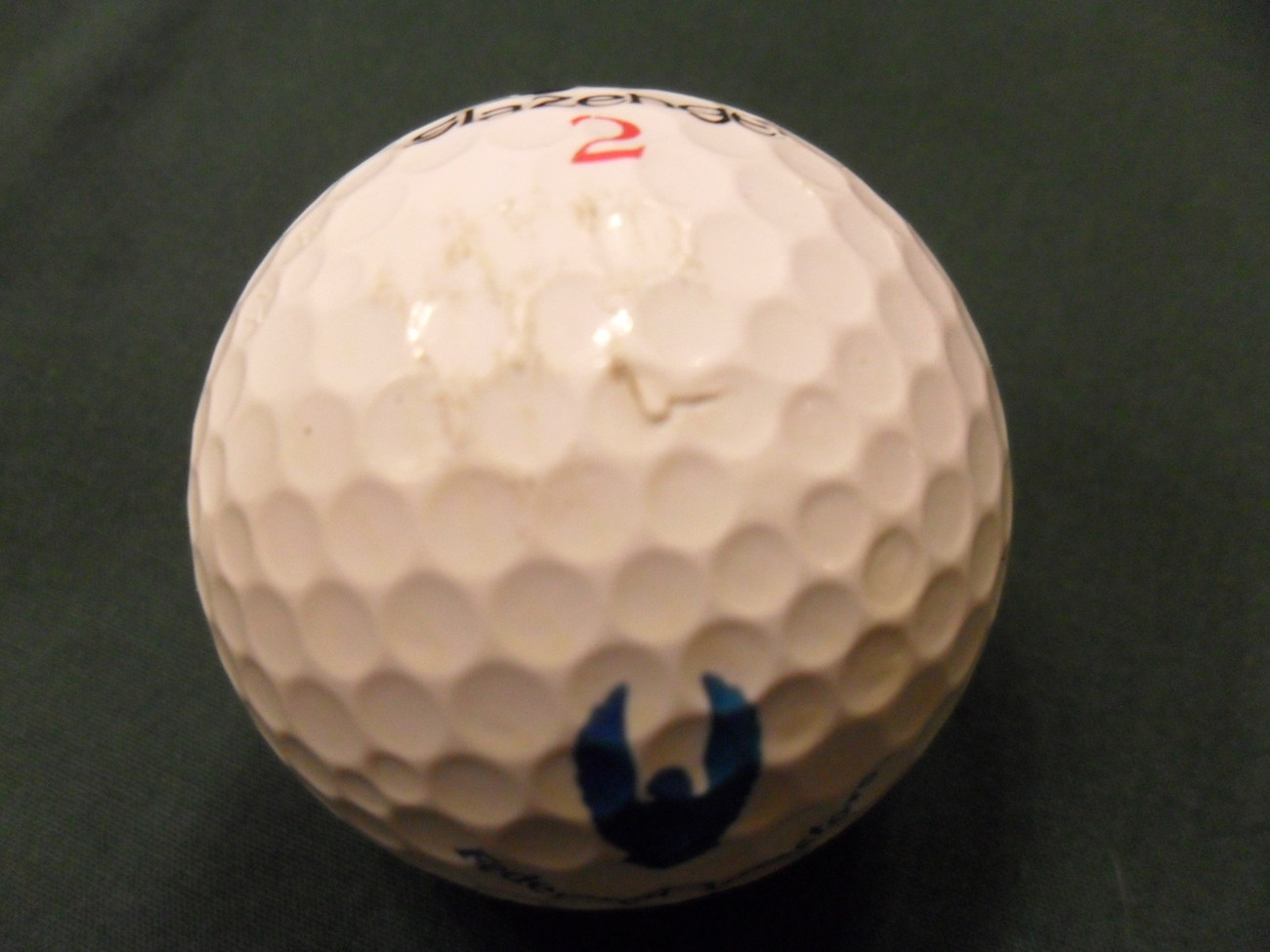FEDERATED INVESTORS Logo Golf Ball SLAZENGER Very Nice FAST SHIPPING