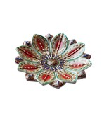 New Arrival Decorative Indian Hand made marble leaf platter beautiful di... - $61.52