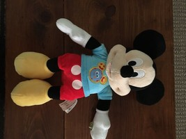 Singing Talking Mickey Mouse Clubhouse Fun Hot Dog Song Phrases Plush Toy Gift - $12.86
