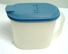 Tupperware Vintage Slim Line One Quart Sheer Refrigerator Pitcher with C... - $14.17