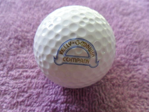 KELLY-GOODWIN COMPANY Logo Golf Ball WILSON 90 Ultra Competition 3 EXCELLENT