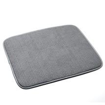 Norpro Microfiber Dish Drying Mat, Gray 16x18 Inch - Set of 2 - $373,91 MXN