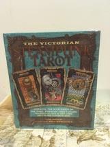 The Victorian Steampunk Tarot Card Deck Illustrated Book Liz Dean - $15.00