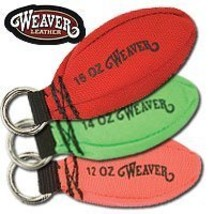 Weaver Leather Throw Weight, Red, 16 oz - $17.28