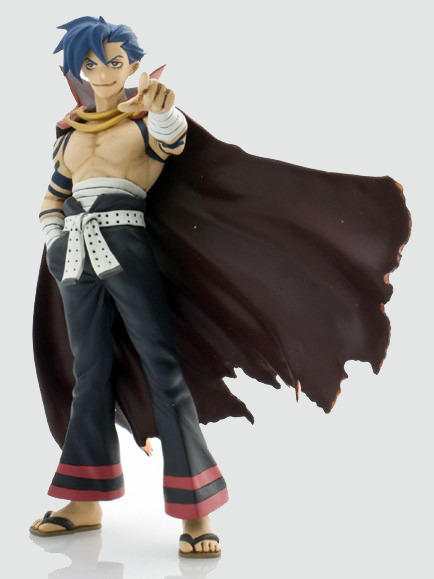 Gurren Lagann Chouzokei Damashii: Kamina Trading Figure Pointing Pose NEW!