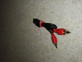 Rca Jack Audio Cable - Male To Male Connector Red - 5FT Long Rca Cable - $3.38