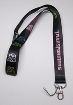 Black TRANSFORMER LANYARD KEY CHAIN Ring Keychain ID Holder NEW - $9.99