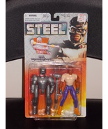 1997 Kenner Steel John Henry Irons With Armor Suit New In The Package - $14.99