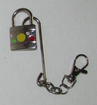 Swiveling Paddle Lock on Hook KEY CHAIN Ring Keychain - $9.99