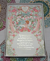 Vintage Huge Hallmark Valentines Card - Scrapebooking, Mixed Media, Craf... - $4.50