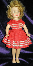 """1958 Ideal 12"""" Shirley Temple Doll - Needs TLC - $50.00"""