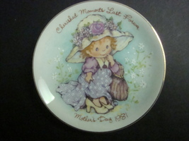 Avon Mothers Day 1981 Decorative Plate, Cherished Memories - $3.99