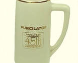 45952a stein mug mccoy pottery 1968 purolator advertising 45th anniversary thumb155 crop